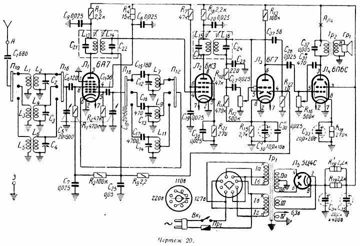 В силовом трансформаторе ЭЛС-2